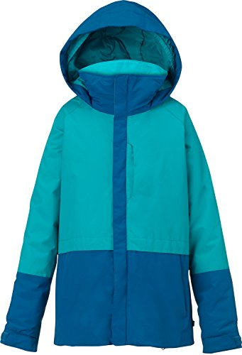 Burton Youth Girls Gemini System Jacket, Everglade/Athens, Medium