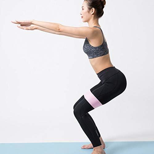 Kentop Banda El/ástica de Resistencia Loop Cintas El/ásticas para Fitness Ejercicio Pilates Calisthenics Rosa Size 7.5cm*84cm