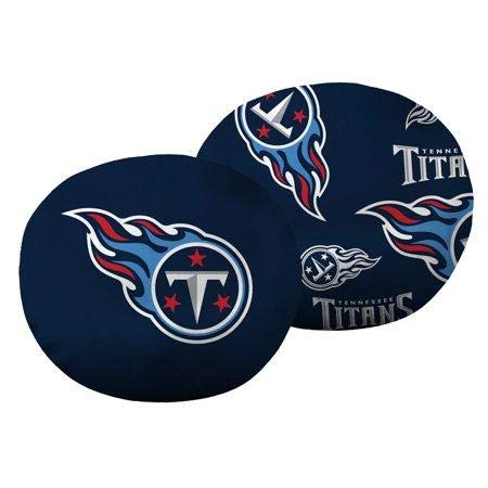 The Northwest Company NFL Tennessee Titans 11'' Cloud Travel Pillow by The Northwest Company