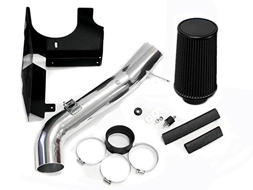 Black 2001-2004 Chevrolet Silverado / GMC Sierra 2500HD 3500 6.6 6.6L Duramax Turbo Diesel Heatshield AIR Intake KIT Systems