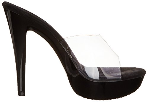 501 Women's Cocktail Sandal Clear Platform Fabulicious qFzpw