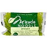 Miracle Noodle Spinach Angel Hair Noodle, 7 Ounce - 6 per case.