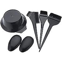 Niome 5pcs Hairdress Brushes Bowl Dye Hair Color Tint DIY Hair Style Tool