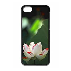 ANCASE Print Water Lily Pattern PC Hard Case for iPhone 5C