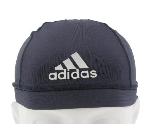 adidas Football Skull Cap (Pure Steel, One (Adidas Outdoor Hat)