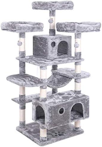 Amazon.com: BEWISHOME MMJ03 - Hamaca grande para gatos con ...
