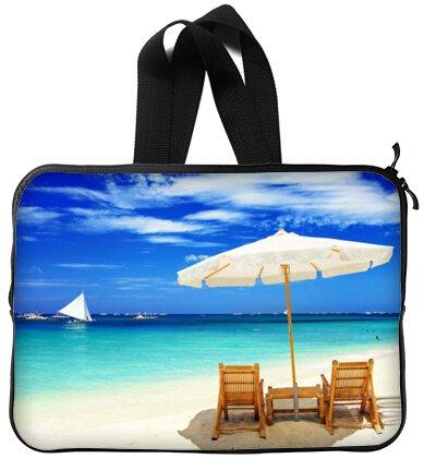Mejor elegante sol de verano playa sillas de 13 pulgadas mango portátil/ordenador portátil manga