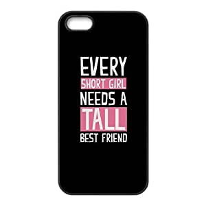 iphone5 5s case (TPU), bff Cell phone case Black for iphone5 5s - FFFG4171551