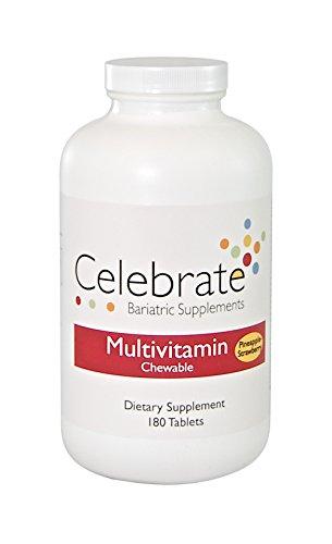 Celebrate Multivitamin - Pineapple Strawberry Chewable - 180 Count