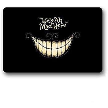 """AKF Shop Decorative Funny Doormats Welcome Mats Entrance Mat Floor Mat Door Mat Rug Indoor/Outdoor/Front Door/Bathroom Mats Rugs for Home/Office/Bedroom Neoprene Rubber Non Slip Backing Machine Washable (23.6""""x15.7"""",L x W)"""