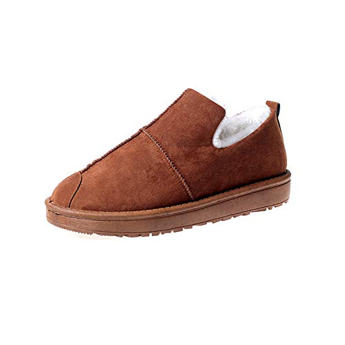 Tack 2018 Spray - Women's Winter Shoes Women Shoes Handmade Suede Leather Boots Plush Wool Women Winter Boots,Brown,39