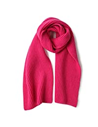 Autumn, Winter and Korean Small Fresh Scarf Warm Long Scarf (Color : RED)