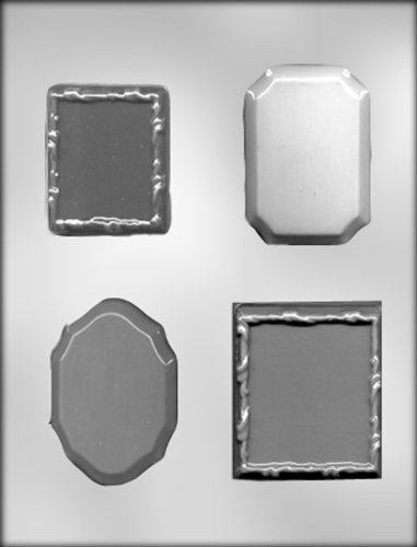 CK Products Frame/Plaque Assortment Choc Mold