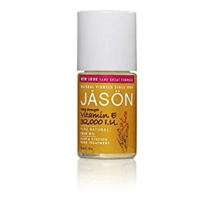 Jason Vitamin E 32,000iu Oil Scar & Stretch Mark Treatment 33ml (PACK OF 4)