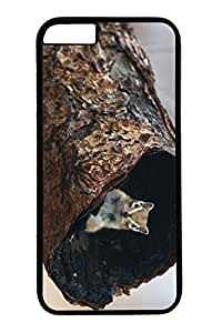 Personalized Protective Cases for New iPhone 6 PC Black Edge - Squirrel Hide by mcsharks