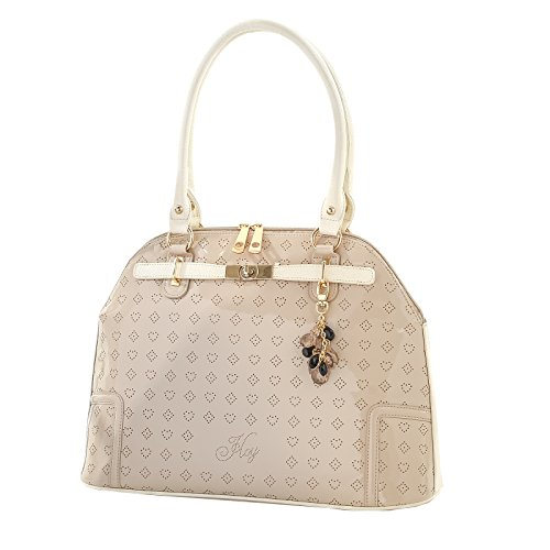Borsa ADA - HoY Be - cherie eco-pelle fashion bag borsa a mano beige