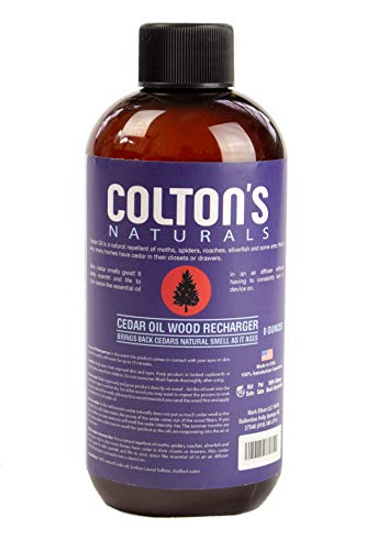 Colton's Naturals Cedar Oil Lavender Wood Replenish & Restore Original Cedar Scent (8 Ounces)