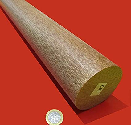 "Priced Per Foot 1.5/"" Diameter Canvas Phenolic Rod Cut to Size!"