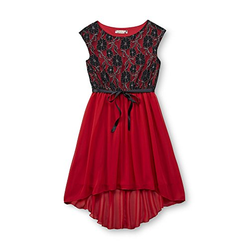 Speechless Big Girl's Lace Bodice Occasion Dress (7yrs)