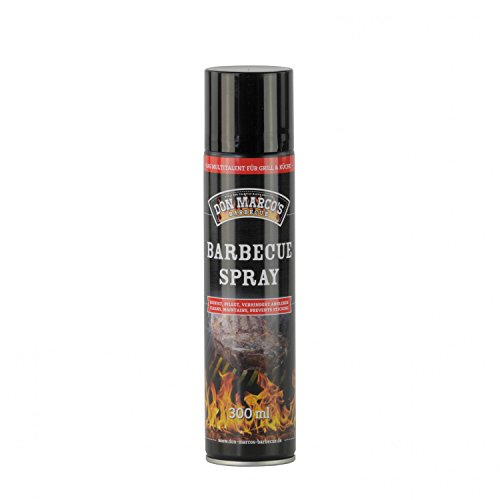 DON MARCO'S BBQ Spray, 100 Prozent Rapsöl, 1er Pack (1 x 300 ml)