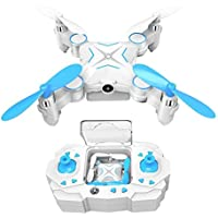Shsyue 2.4G 4CH LED RC Quadcopter Mini Wifi FPV Drone with 1 MP Camera