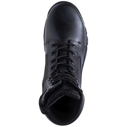 Bates Mens Beleg 8 Zijrits Laarzen Zwart