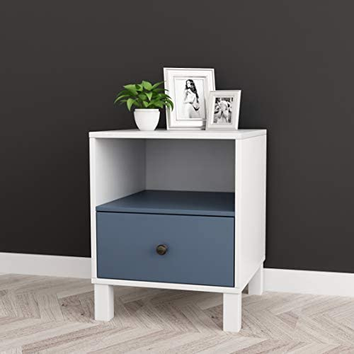 Contemporary Nightstand Side End Table