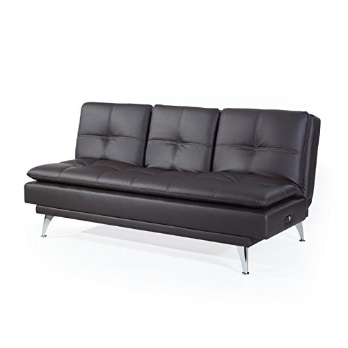 Solutions Sleeper Sofa Lifestyle (Westport Home RA-MKZS3B2001-P Marie Convertible Sofa)