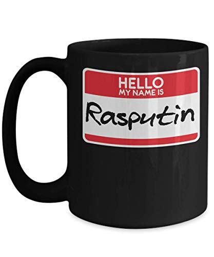 My Name Is Rasputin Russian Tsar Russian-History USSR Halloween Costume Trick or Treat Gift Mug   Simple Halloween Costume Idea