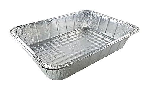 Handi-Foil 14 x 10 x 3 Deep Oblong Lasagna Casserole Bbq Aluminum Pan (pack of 10)