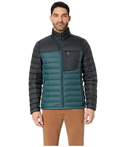 Mountain Hardwear Men's Dynotherm¿ Down Jacket Blue Spruce Large