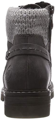 MARCO 226 A Damen comb Grau Boots Combat 21 grey Dk TOZZI 26242 rPqxZ6r