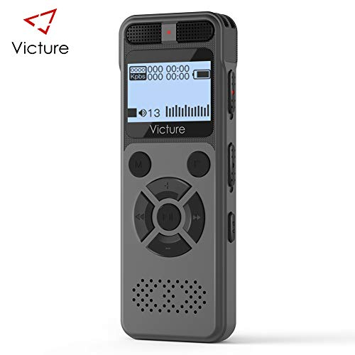Victure Digital Voice Recorder,8GB 1536Kbps USB Professional Voice Recorder...