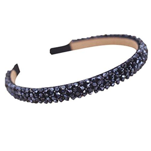 (Korean Women Crystal Headband Hairband Headwear Hair Accessories)