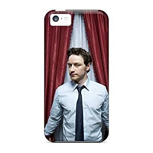 LastMemory Case Cover Protector Specially Made For Iphone 5c Men Male Celebrity James Mcavoy
