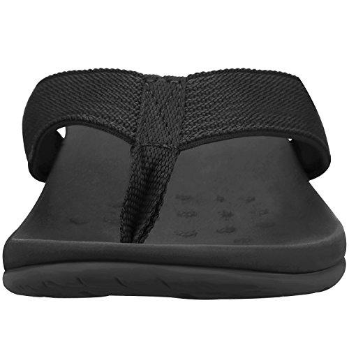 679bb0b0da7 Sessom Co Women s Orthotic Sandals with Arch Support for Plantar Fasciitis  Stylish Beach Flip Flops Outdoor Toe