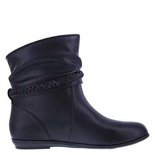 Lower Women's Black Boot Slouch Side East Rachel xAwqpf