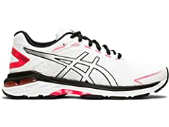 Go further on your feet in the women's GT-2000 7 Twist performance road running shoe. A lightweight shoe offering total support and stability, this ASICS design is dedicated to helping you go the distance, with its SpEVA foam to the midsole a...