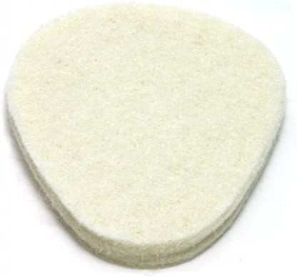 "100 Pack, Felt Metatarsal Cushions, 1/4"" Adhesive Felt Ball of Foot Pad from Atlas Biomechanics 419RX27U9ML"
