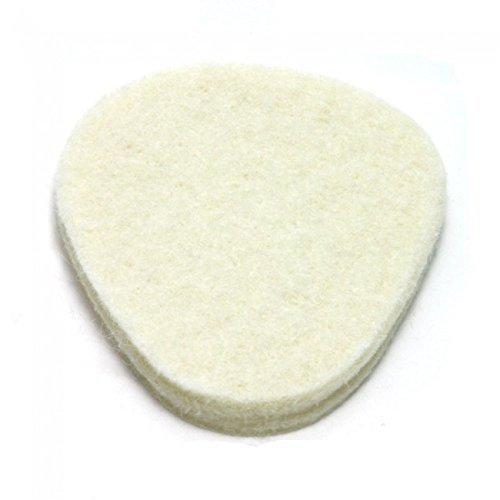 Metatarsal Pads, 100 pad pack, 1/4'' adhesive felt, Ball of Foot Cushion by Atlas Biomechanics by Atlas Biomechanics