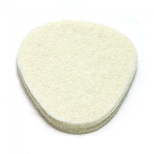 Metatarsal Pads, 100 pad Pack, 1/4'' Adhesive Foam, Ball of Foot Cushions