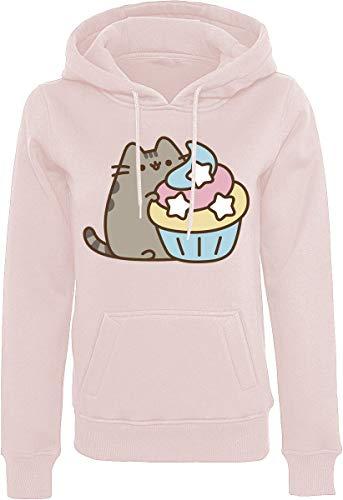Pusheen The Cat Trui met capuchon roze Fan merch, Katzen