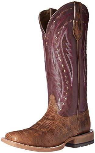 Ariat Women's Callahan Work Boot, Cattleguard Tan, 5.5 B US by Ariat