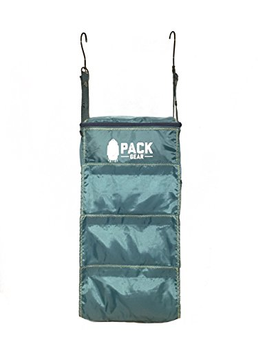 Pack Gear Basics - Velcro Closure Backpack Organizer green / teal