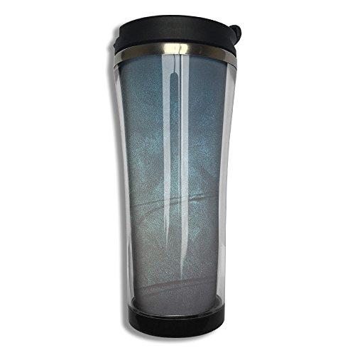 EQQ Purple Flip Top Lid Double Wall Stainless Steel Mug Hot Cold Tumbler With Liquid Tight Travel Mug Vacuum Sealed Tumbler Drink