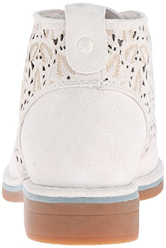 Suede Off Boot Puppies Cyra Women's White Catelyn Hush Perf qaB48wI