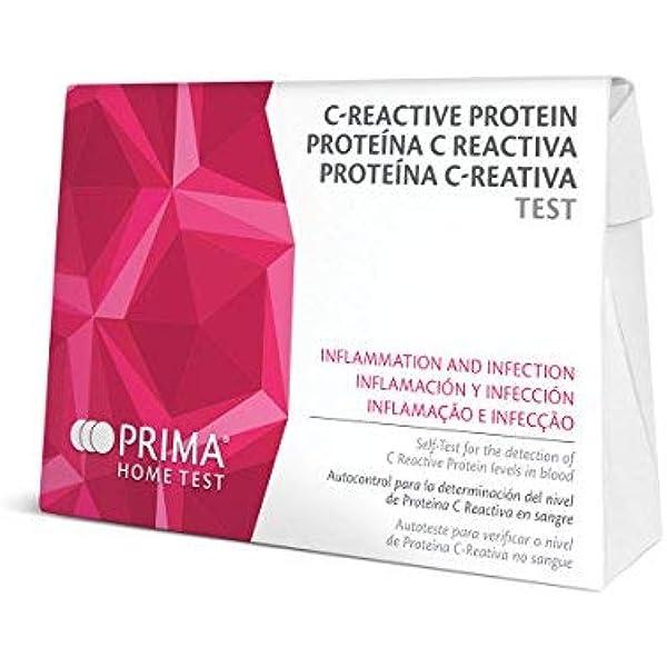 Prueba de Proteína C-Reactiva (PCR) Mediante Determinación ...