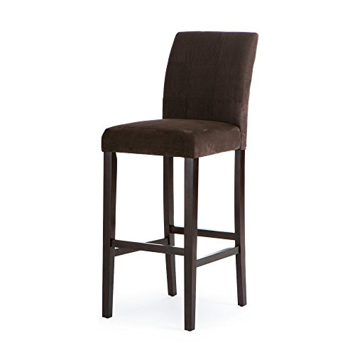 Palazzo 34 Inch Extra Tall Bar Stool - Set of 2  sc 1 st  Amazon.com : extra tall wood bar stools - islam-shia.org