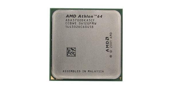 AMD ATHLONTM 64 PROCESSOR 3700 DESCARGAR CONTROLADOR