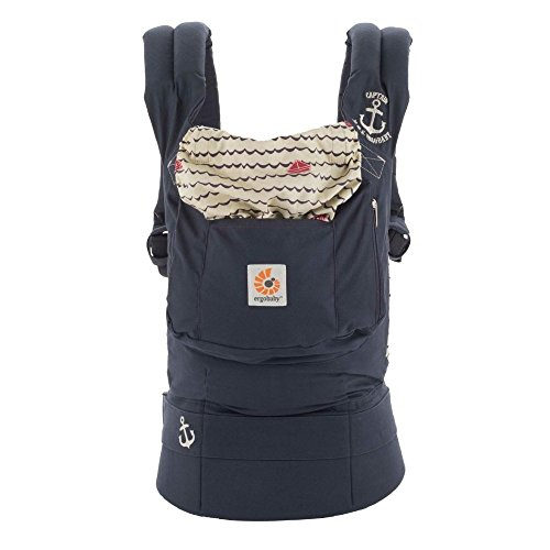 5865e7f6282 Ergobaby Original Award Winning Ergonomic Multi-Position Baby Carrier with  X-Large Storage Pocket